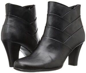 New-Women-039-s-A2-by-Aerosoles-Best-Role-Bootie-Shoes-Black-001