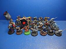 16+3 Mordor Orks + Ork Kommando +3+1 Haradrim + 4 Goblins für Herr der Ringe
