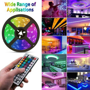 LED-Light-Strip-5050-Tape-Lights-LED-Strip-Lights-with-Remote-for-Home-Lighti-DD