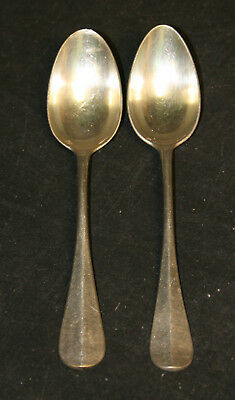 """ONE Christofle AMERICA Silver-plate Dinner Table Spoon 8 1//8/"""" Luc Lanel TX"""