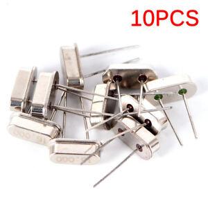 10Pcs HC-49S 16M HZ 16.000MHz 16MHZ Inline Feet Passive Crystal Oscillator M&C 711331454461