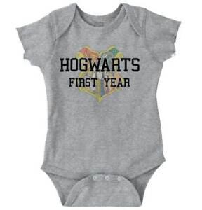 First-Year-Magic-Wizard-School-Cute-Nerdy-Stu-Newborn-Romper-Bodysuit-For-Babies