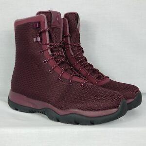 9355d6f9422f53 Nike Air Jordan Future Boot Size 10 Night Maroon Burgundy Red Black ...