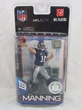 McFarlane NFL Football ELITE TRU Exclusive ELI MANNING NY Giants, Blue Jersey
