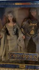 2003 Lord of The Rings The Return Of The King Barbie Doll as Arwen & Aragon NRFB