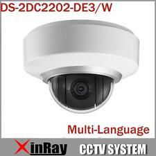 Hikvision Multi-language DS-2DE2202-DE3/W 2X Zoom Wifi 1080P Auto PTZ IP Camera