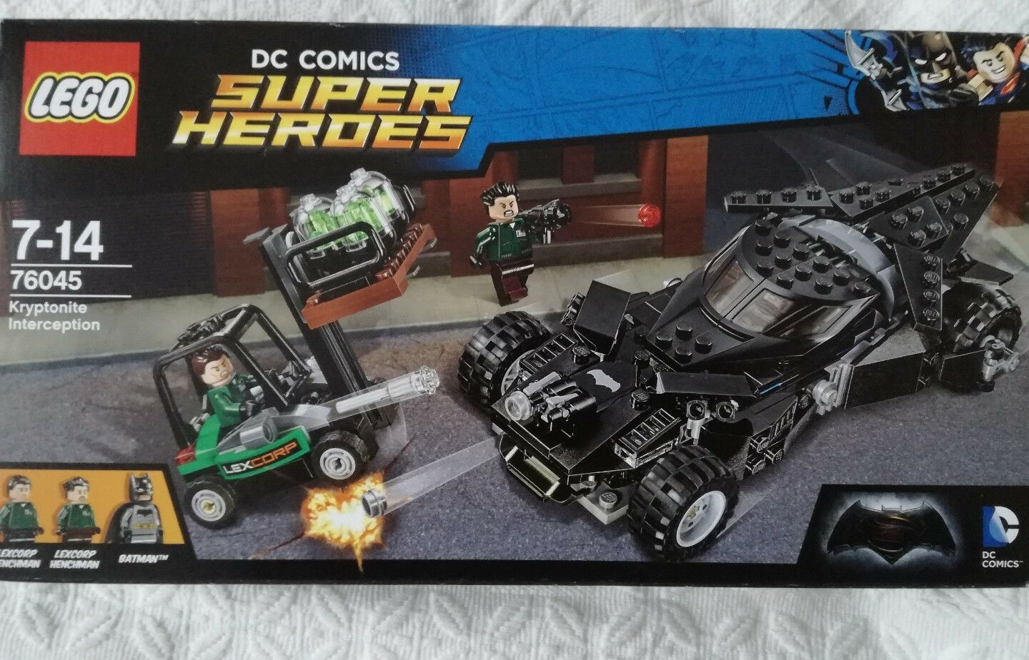 LEGO 76045 - Marvel Super Heroes - Batman - neu & ovp
