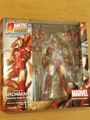 Amazing Yamaguchi No.013 Bleeding Edge Armor Iron Man New 17cm