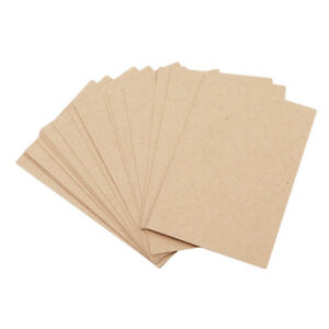 Blank-Kraft-Paper-Greeting-Mini-DIY-Vintage-Gift-Craft-Message-Note-Cards-LD