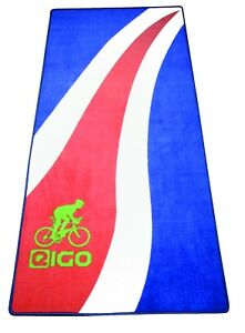 NEW-EIGO-TURBO-TRAINER-FLOOR-MAT-BLUE-FLOW-CYCLE-BIKE-BICYCLE-TRIATHLON