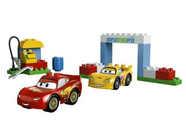 LEGO Duplo 6133 - Duplo, Cars: Race Day - VERY RARE - NO BOX