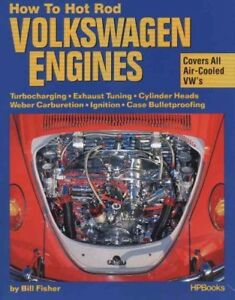 How-to-Hotrod-Volkswagen-Engines-Paperback-by-Fisher-Bill-Brand-New-Free