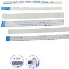 10pcs FFC/FPC Flexible Flat Cable Ribbon Pitch 0.5mm 1.0mm 18P-40P 80C 60V VW-1