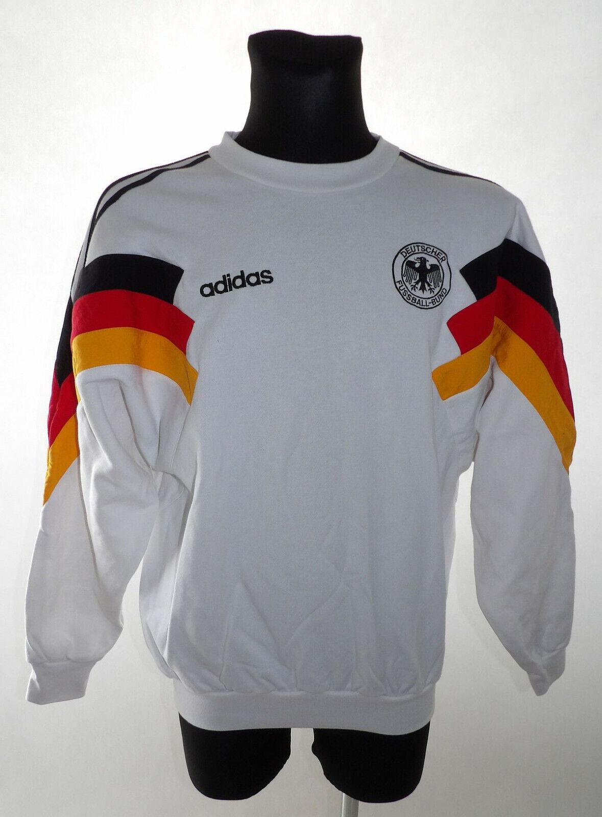 Vintage Deutschland 1992 Adidas D5 Sweatshirt  M  Shirt Jersey Trikot Germany