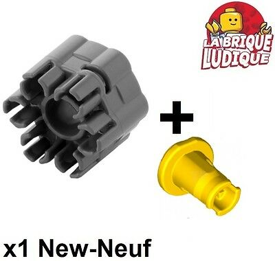 Lego 18587 NEUF 1x minifig arme weapon shooter rapid cannon gris//gray 18588