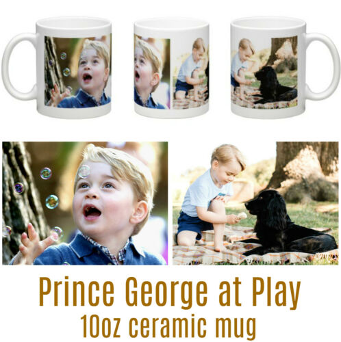 HRH Prince George of Cambridge at play Contemporary Ceramic Mug
