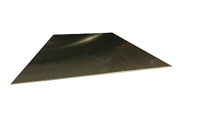 ".035 20 gauge 6/"" x 8/"" 304 #4 Brushed Stainless Steel Sheet Metal Plate"
