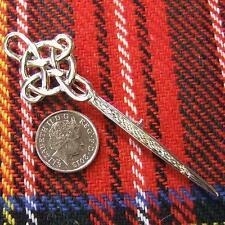 sterling silver celtic kilt pin