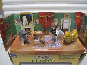 NewRay-Set-10-ca-1-12-Set-034-MY-BEST-FRIEND-034-mit-5-Hunden-Art-34013