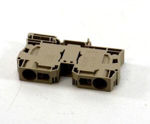 1x-Weidmueller-Typ-ZDU-35-Durchgangsklemme