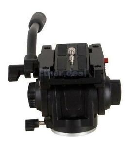 Lightweight-Pro-Fluid-Tripod-Mini-Head-with-QR-Plate-for-Manfrotto-701HDV