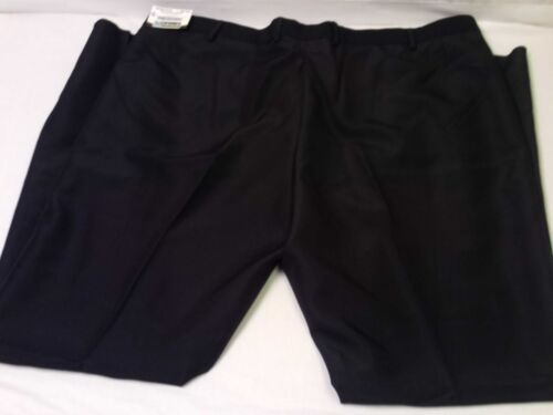 Edwards NWT Textured Woven Solid Black Security Uniform Pants Big /& Tall Size 52