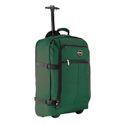 Cabin max Lyon vuelo Aprobado Bolsa con ruedas equipaje de mano-llevar en el carro 44L