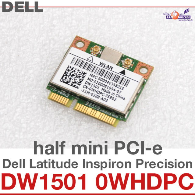 Dell Studio 1457 Notebook 1501 Half Mini-Card WLAN Driver for PC