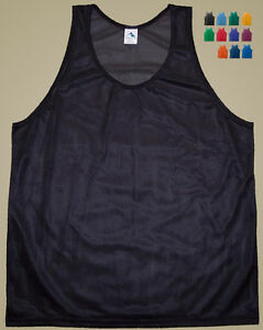 Augusta-Polyester-Mini-Mesh-Tank-Top-Singlet-Men-039-s-Medium-11-Colors