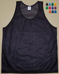Augusta-Polyester-Mini-Mesh-Tank-Top-Singlet-Men-039-s-2XL-11-Colors