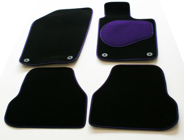 Perfect Fit Black Carpet Car Mats for Alfa Romeo Brera Coupe 06/>