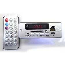 5V/12v Digital LED mp3 decoder Board + IR Remote control usb SD FM Radio F CAR