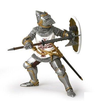 Papo 39785 Ritter mit Adlerhelm weiß 10 cm Ritter und Burgen