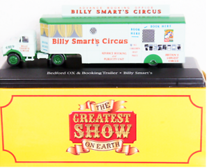 DIE-CAST-MODEL-CIRCO-034-Bedford-OX-amp-Booking-Trailer-034-SCALA-1-76-ATLAS-103