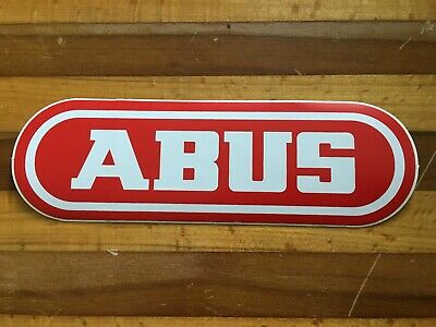 Bicycle Cycling Sticker Decal ABUS