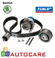 SKODA Octavia 1.9 TDI Motor Kit Correa De Distribución Dentada Cadena por SKF Bomba De Agua