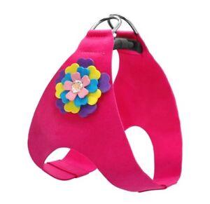 Hundegeschirr-Hundehalsband-Luxus-Chihuahua-Yorkie-S-Rosa-Schick-Geschirr-Pink