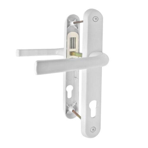 Quality Door Handles Set UPVC Lever or Pad Chrome Brass Black Gold Flint