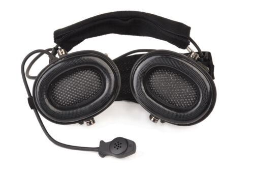 Z-TAC  zTCI zLIBERATOR II Neckband Headphone and PTT and 2 way Walkie Talkie Set