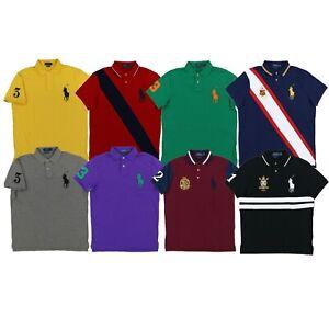 Polo Ralph Lauren Men/'s Regular Fit Interlock Soft Polo Shirt S-M-L-XL-XXL