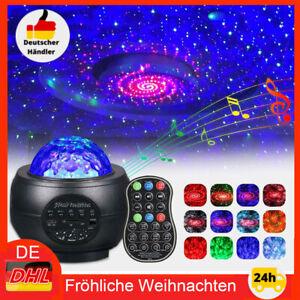 LED Projektor Sternenhimmel Lampe Starry Mond Stern Bluetooth mit Fernbedienung