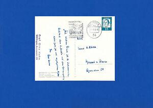 Otto Hahn eigh. Postkarte mit Autogramm vom Nobelpreisträger selten da gelaufen
