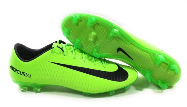 b2123d4073a Nike Mercurial VELOCE III FG Soccer Cleats Mens Size 12 Green Black  847756-303