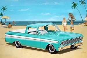 Oldtimer-1-25-Ranchero-Pickup-1965-Trumpeter-02512