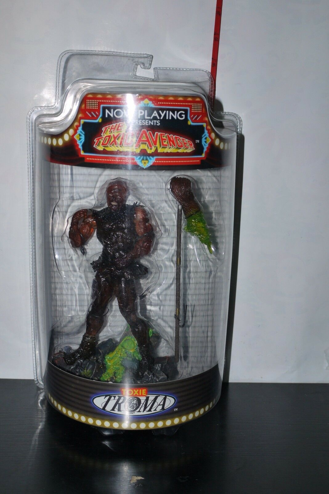SOTA NOW PLAYING TOXIC AVENGER TOXIE FIGURE TROMA 2004 CLEAR VARIANT MIB