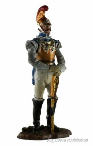 NNS004 Oficial superior de fusileros Figura plomo lead Napoleón Hobby Work