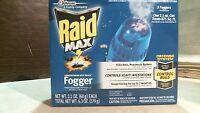 Sc Johnson Raid Max Concentrated Deep Reach Foggers, 3 Foggers, Free Shipping