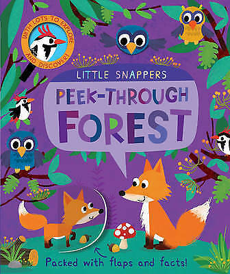 "1 of 1 - ""VERY GOOD"" Peek-through Forest (Little Snappers), Litton, Jonathan, Book"