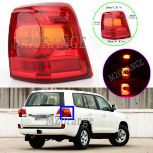 Right RH Side Outer Tail Light Lamp For Toyota Land Cruiser 200 Series 2012-2015
