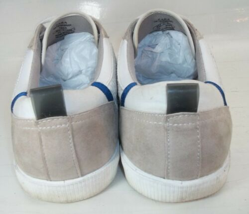 4531 Zara Tressé Daim Eu Cuir Homme 43 Chaussures 10 Us Beige En Baskets Blanc rfOSr7q